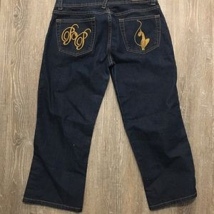Baby Phat jeans 11 Capri cropped